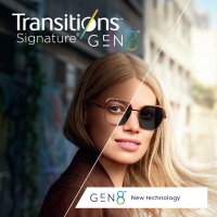 Линзы Transitions Signature VIII (Gen. 8) 1.50 SHMC - фотохромные
