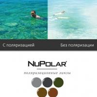 Линзы NuPolar 1.50 (60%) - поляризационные