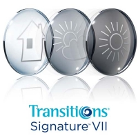 Линзы Transitions Signature VII 1.60 SHMC - фотохромные